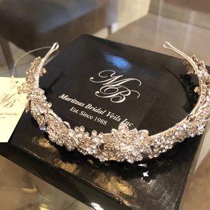 Beautiful crystal tiara. Brand new.